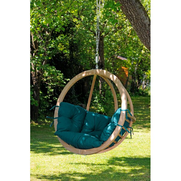 Lake City Swing Chair with Stand by Freeport Park