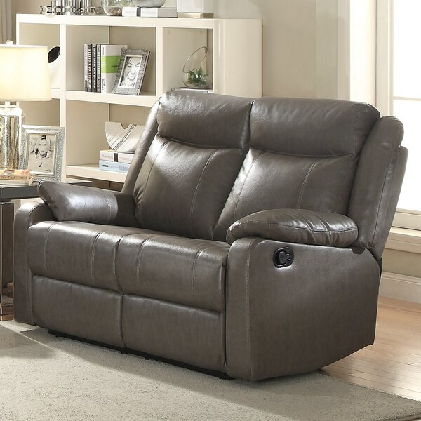 Lowest Price For Weitzman Double Reclining Loveseat by Red Barrel Studio by Red Barrel Studio