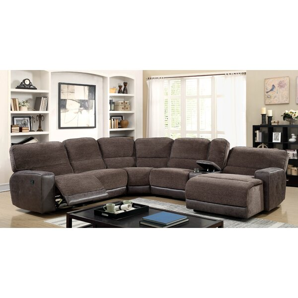 Steinman Reclining Sectional by Winston Porter