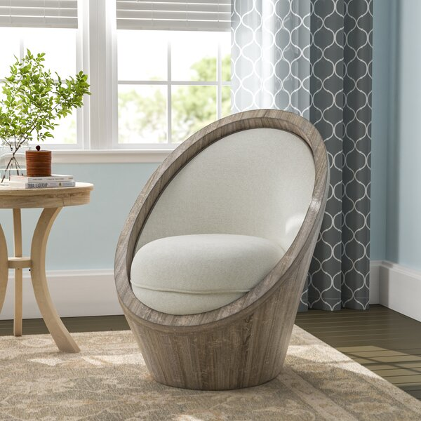 Hashimoto Barrel Chair by Bungalow Rose Bungalow Rose