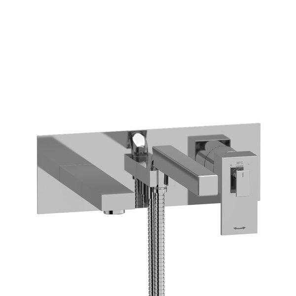 Kubik Single Handle Wall Mounted Roman Tub Faucet by Riobel Riobel