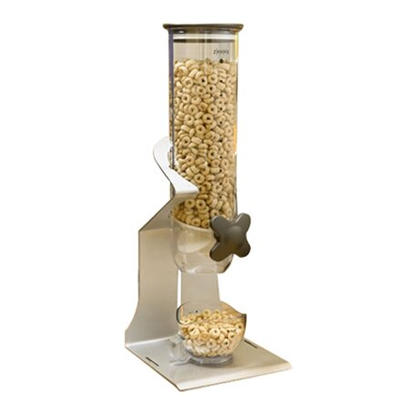 Single Countertop Dry Food Cereal Dispenser by Zevro