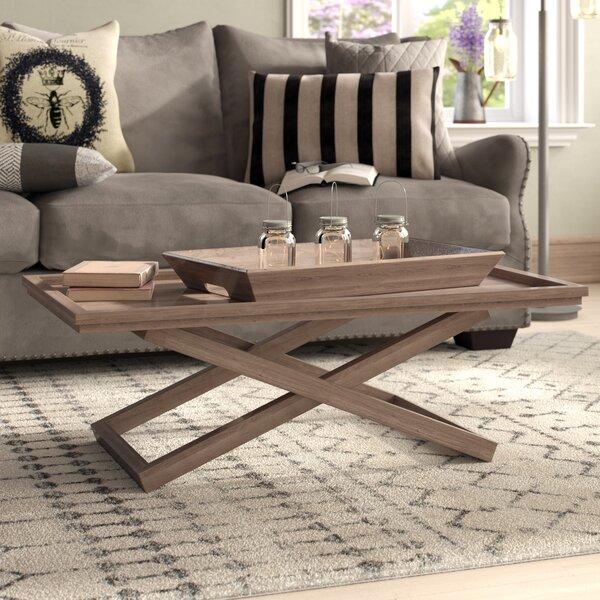 Cross Legs Coffee Table By Laurel Foundry Modern Farmhouse