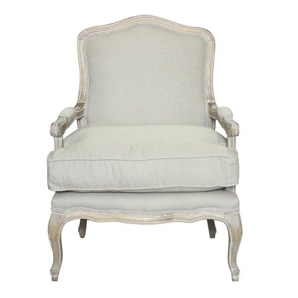 Rodney 25-inch Armchair by One Allium Way One Allium Way