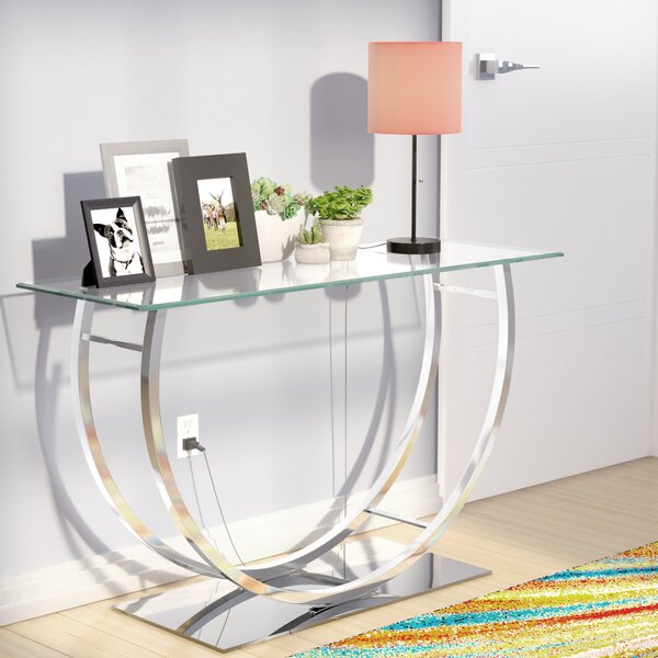 Read Reviews Cinderford Console Table by Wade Logan