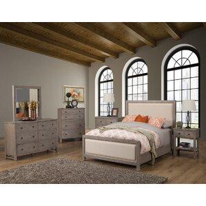 Burgundy Panel Configurable Bedroom Set by Lark Manor