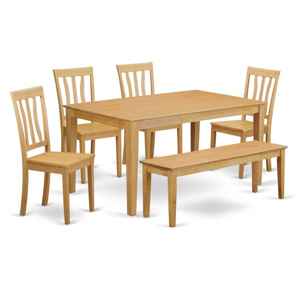 Alingtons 6 Piece Dining Set by Winston Porter Winston Porter