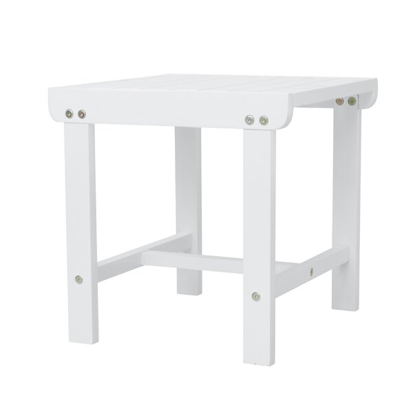 Amabel Wooden Side Table by Beachcrest Home