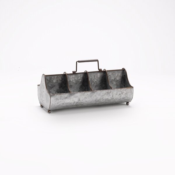 Solon Rectangle Metal Planter Box by Williston Forge