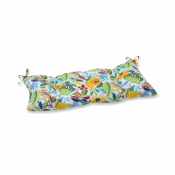 Guadaloue Indoor/Outdoor Bench Cushion by Bay Isle Home