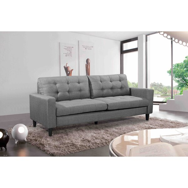 Perfect Quality Sweetwood Sofa by Ebern Designs by Ebern Designs