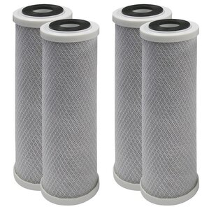 Carbon Block and Sediment Replacement Filter Reverse-Osmosis System (Set of 4) by vitapur