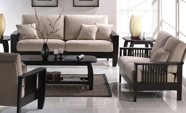 Wildon Home Mission Style Living Room Collection Reviews Wayfair