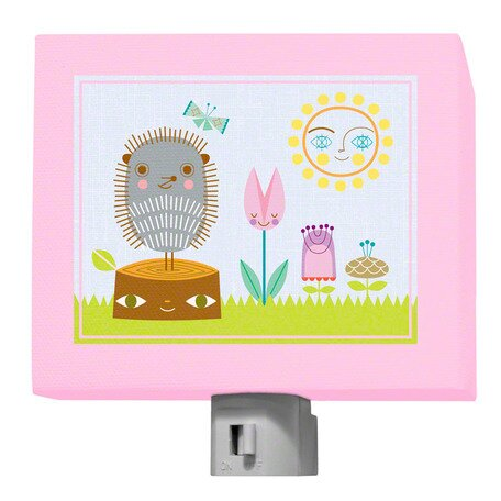 A Very Fairy Topiary Woodland Friends Night Light by Oopsy Daisy