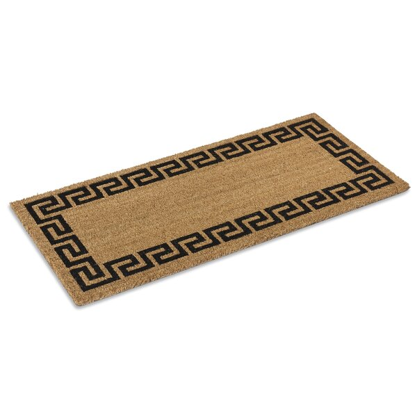 Greek Key Doormat by KEMPF