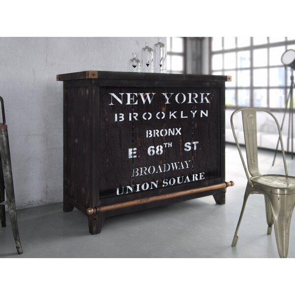Sandie Bar with Wine Storage by 17 Stories
