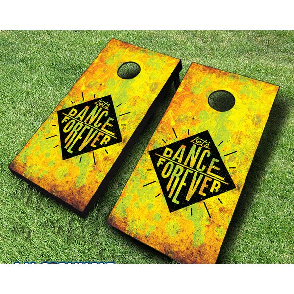 10 Piece Dance Forever Cornhole Set by AJJ Cornhole