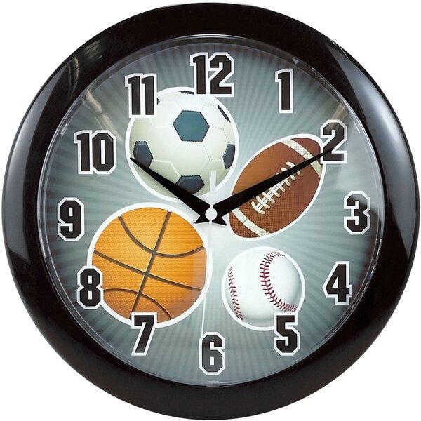 9.75 Sports Wall Clock by Ashton Sutton