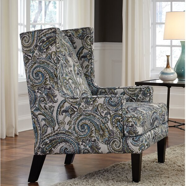 Auttenberg Wingback Chair by Darby Home Co