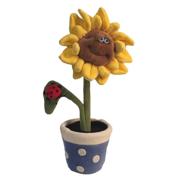 Highbridge Sunflower Potted Plant Mobile by Zoomie Kids