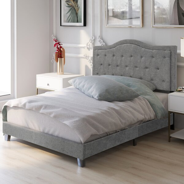 Campisano Classic Queen Upholstered Standard Bed by Red Barrel Studio