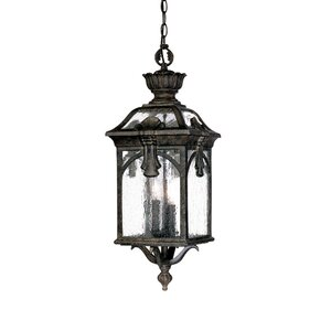 Applebaum 3-Light Outdoor Hanging Lantern