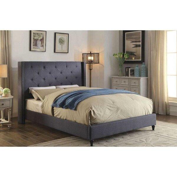 Navas Upholstered Platform Bed by Red Barrel Studio