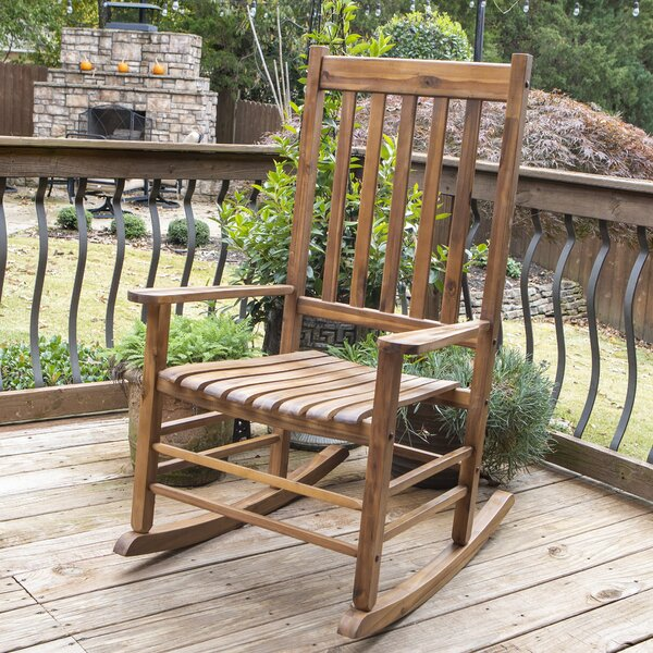 Galesville Outdoor Rocking Chair By Charlton Home by Charlton Home Read Reviews