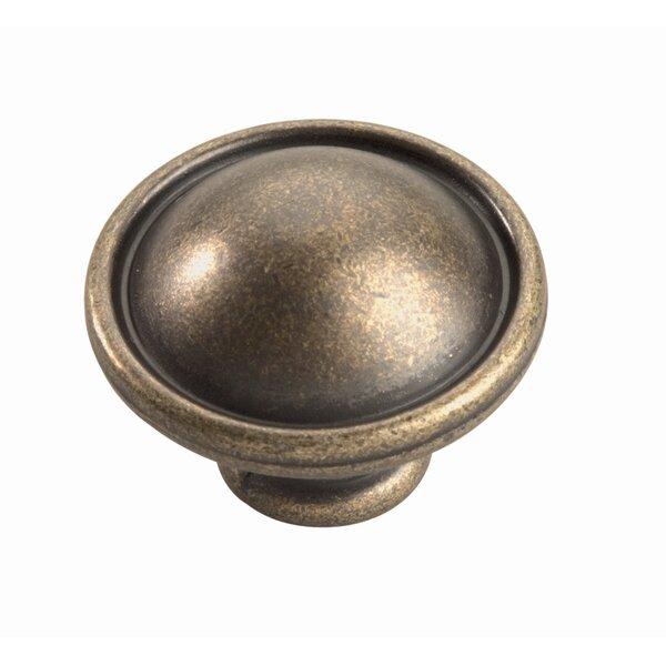 Oxford Mushroom Knob by Hickory Hardware