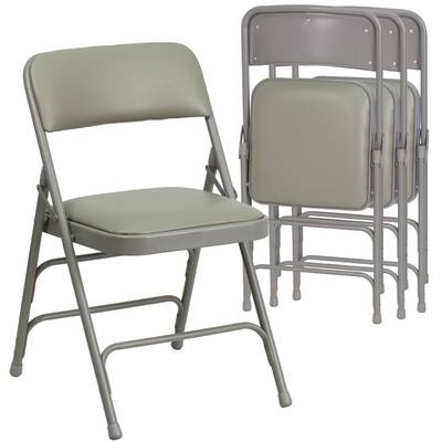 Symple Stuff Christie Padded Folding Chair Reviews Wayfair