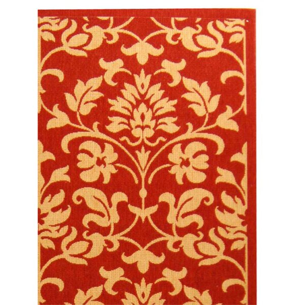 Bexton Red Indoor/Outdoor Area Rug by Alcott Hill