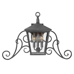 Read Reviews Trellis 3-Light Outdoor Wall Lantern By Hinkley Lighting