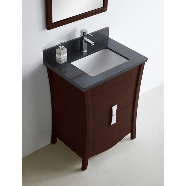 Bow 24 Single Bathroom Vanity Set by American Imaginations