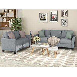 Franais 2 Piece Living Room Set by Red Barrel Studio®