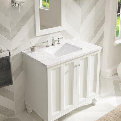Undermount Rectangular Bathroom Sink kohler verticyl rectangular undermount bathroom sink with overflow