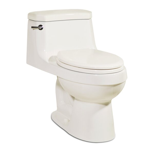 Palermo 1.28 GPF Elongated One-Piece Toilet by St Thomas Creations by Icera
