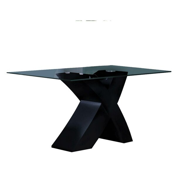 Menchen Rectangular Dining Table by Orren Ellis