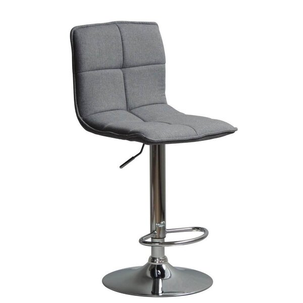Briese Adjustable Height Swivel Bar Stool by Orren Ellis