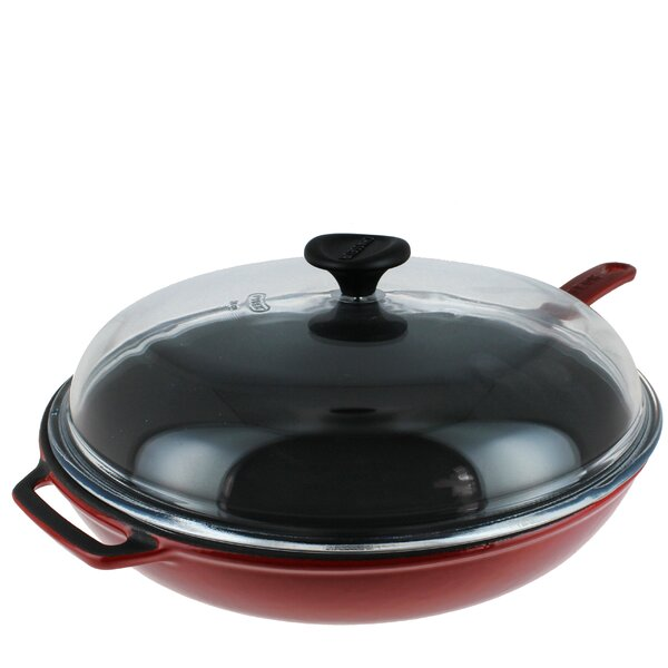 11 Frying Pan with Lid by Chasseur
