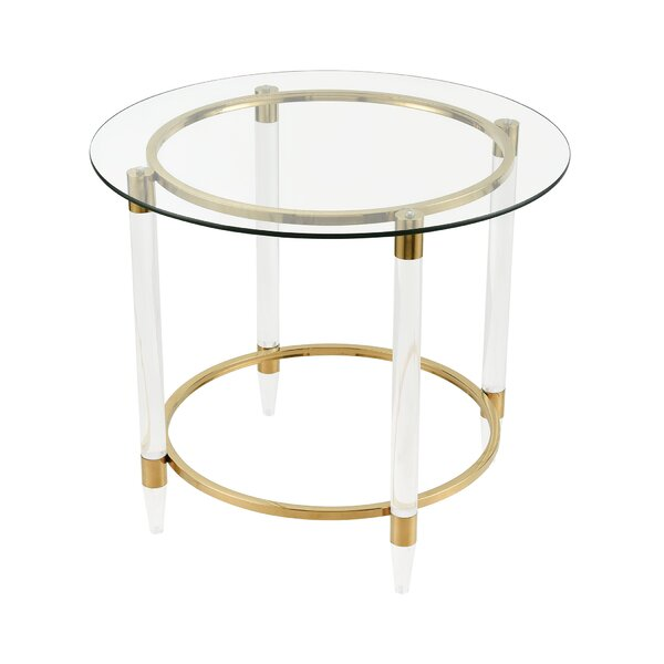 Porterdale End Table by Everly Quinn