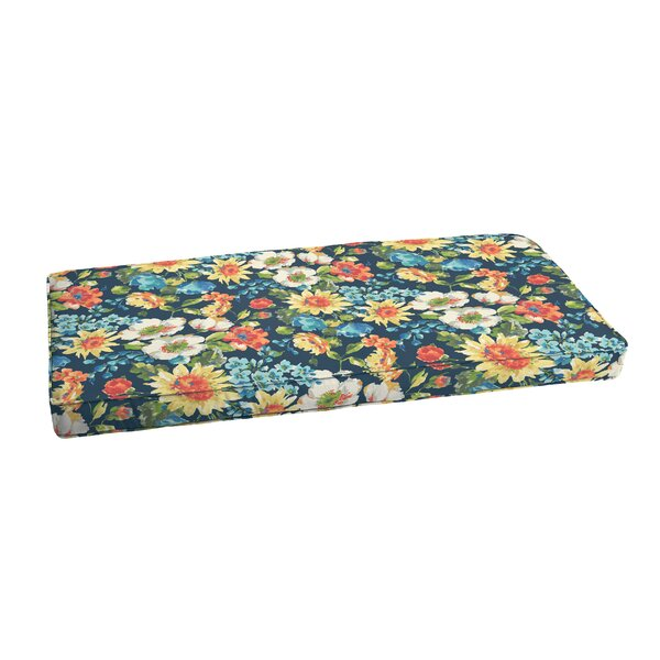 Reagle Indoor/Outdoor Bench Cushion by Charlton Home