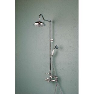 Thermostatic Exposed Shower Set with Lever Handle and Rough-in Valve by Strom Plumbing by Sign of the Crab
