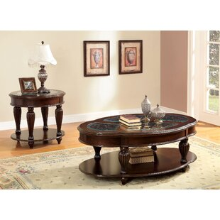 Rhuddlan Coffee Table Set Astoria Grand
