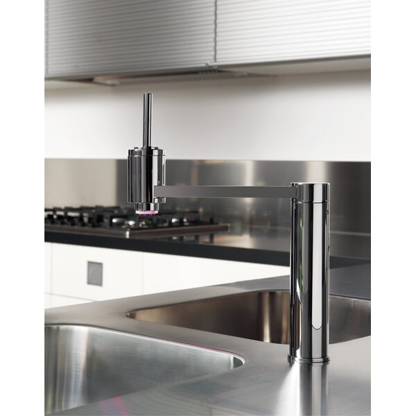 Single Handle Kitchen Faucet with LED Light by Maestro Bath
