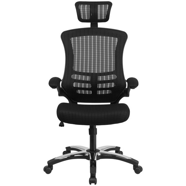 Wyckhoff High-Back Mesh Executive Chair by Symple