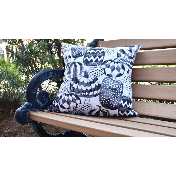 Maser Pumpkins Galore Halloween Outdoor Throw Pillow by The Holiday Aisle
