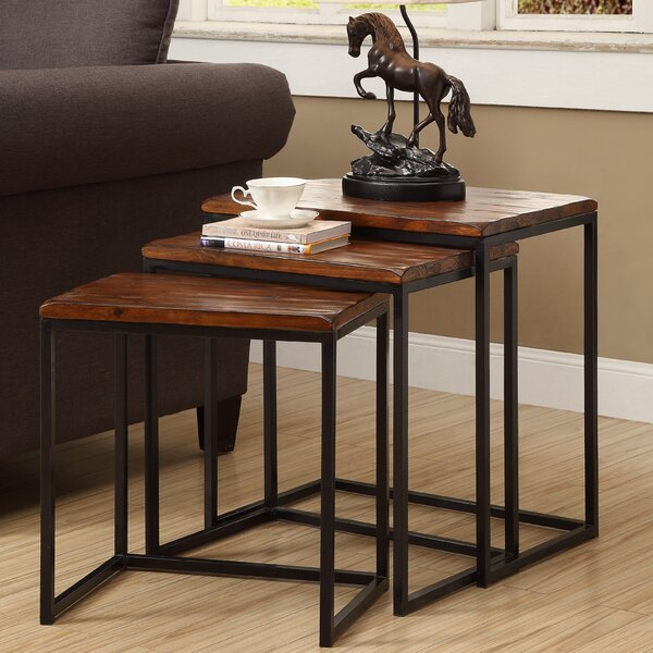 Trent Austin Design Pemberton 3 Piece Nesting Table U0026 Reviews | Wayfair