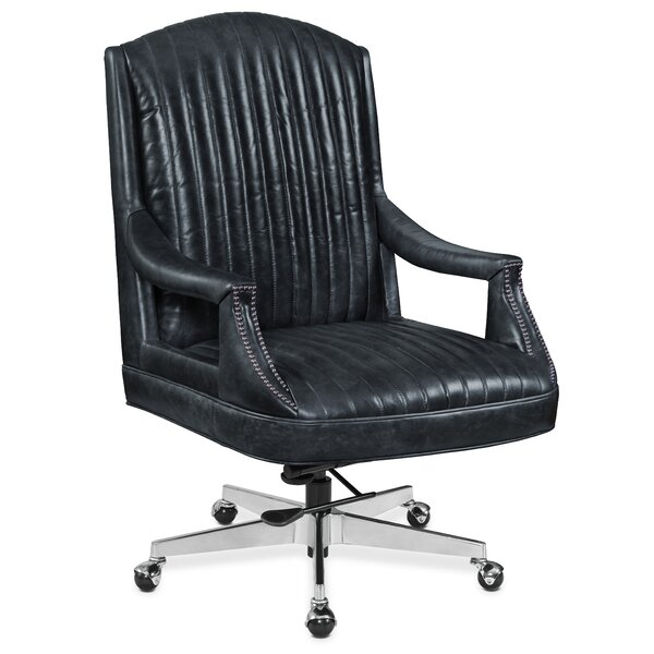 Claybrook Genuine Leather Office Chair by Hooker Furniture