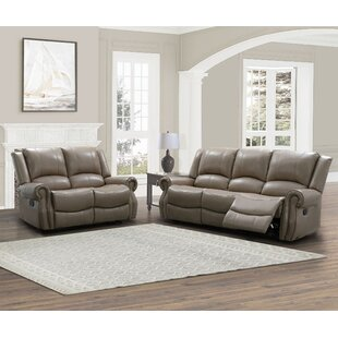 Digiovanni Faux Leather Reclining Living Room Set by Red Barrel Studio®