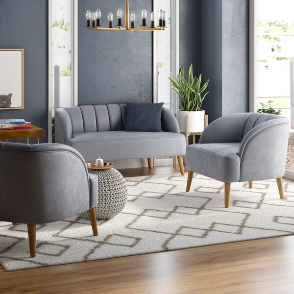 Javion 3 Piece Living Room Set by Mistana